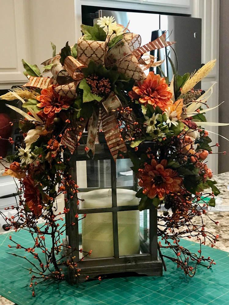 Wreath Candle