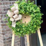 Satin Ribbon Wreath